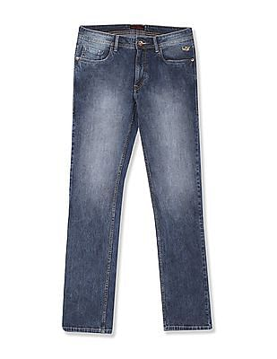 Flying Machine Michael Slim Tapered Fit Textured Jeans