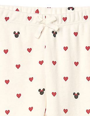 GAP Baby Disney Minnie Mouse And Hearts Pants