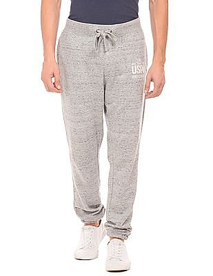 U.S. Polo Assn. Denim Co. Regular Fit Heathered Joggers