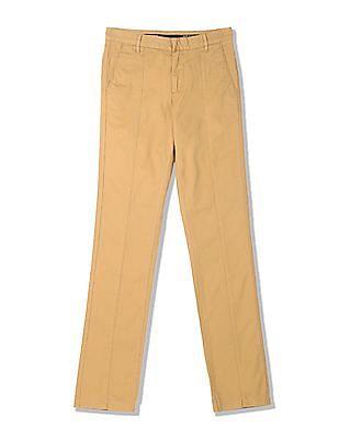 Arrow Newyork Regular Fit Panelled Trousers