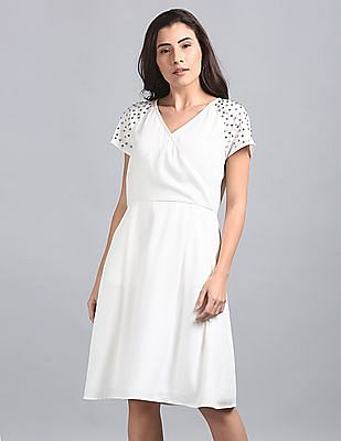 GAP Studded Empire Waist Dress