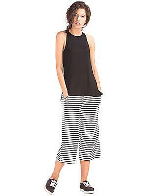 GAP Pure Body Modal Wide Leg Crop Pants