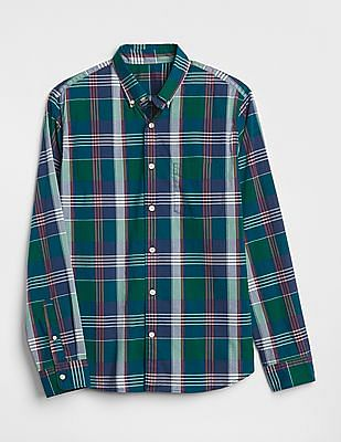 GAP Slim Fit Poplin Shirt