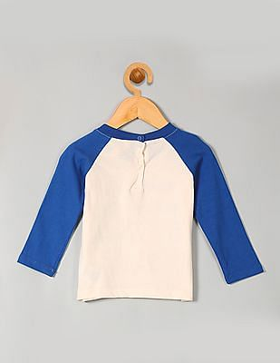 GAP Baby Organic North Pole Baseball Tee