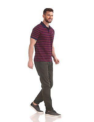 Cherokee Slim Fit Solid Trousers
