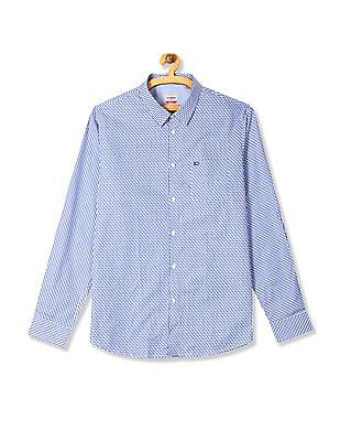 Arrow Sports Hudson Slim Fit Patterned Shirt