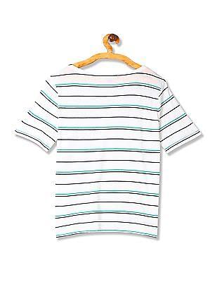Gant Short Sleeve Striped T-Shirt