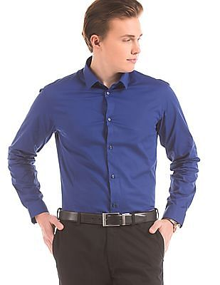 Arrow Newyork Skinny Fit French Placket Shirt