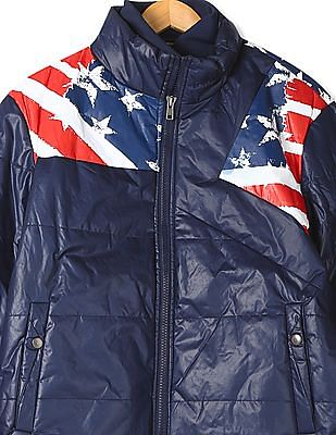 U.S. Polo Assn. Denim Co. Padded Layered Jacket