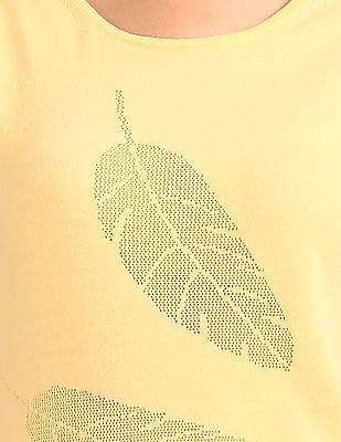 Elle Self Pattern T-Shirt Dress