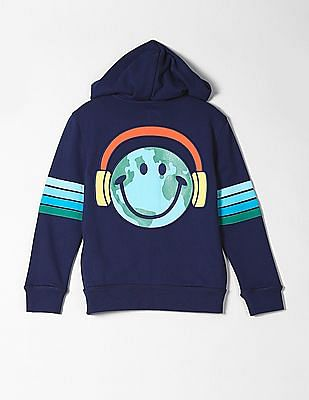 GAP Boys Graphic Hoodie Sweatshirt