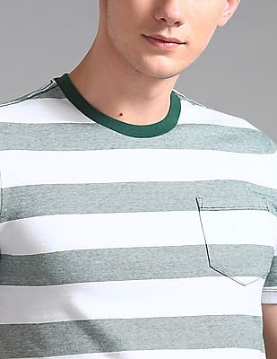 GAP Everyday Crew Neck Stripe T-Shirt