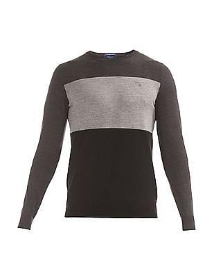 Gant Colour Block Lambswool Sweater