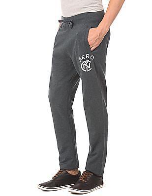 Aeropostale Melange Regular Fit Track Pants
