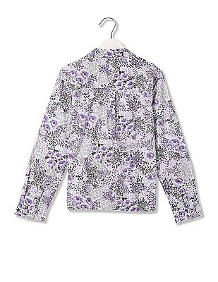 GAP Girls Floral shirt