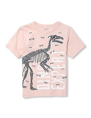 The Children's Place Toddler Boy Short Sleeve Graphic Tee