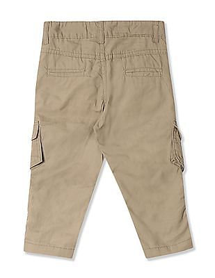 Donuts Boys Solid Mid Rise Cargos