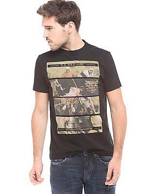 U.S. Polo Assn. Denim Co. Printed Slim Fit T-Shirt
