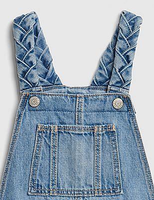GAP Baby Braided Short Overalls