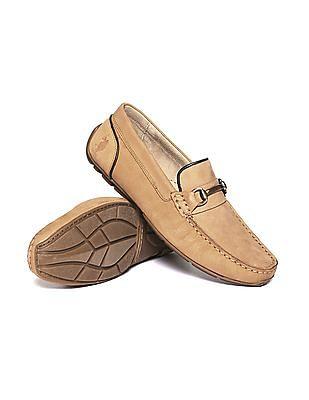 U.S. Polo Assn. Horsebit Leather Loafers