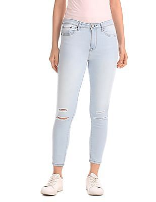 Aeropostale Jegging Fit Bleached Jeans