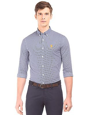 U.S. Polo Assn. Button Down Printed Shirt