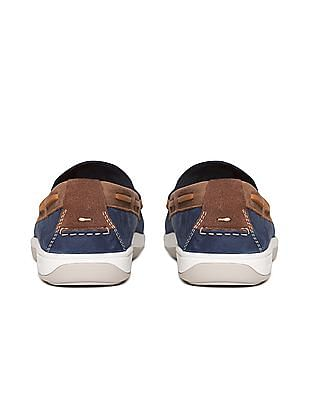 Cole Haan Boothbay Camp Suede Boat Shoes