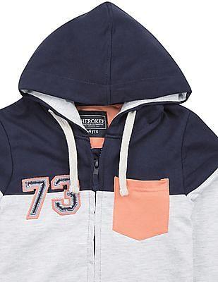 Cherokee Boys Panelled Hooded Sweatshirt