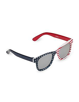 The Children's Place Toddler Boy American Flag Sunglasses
