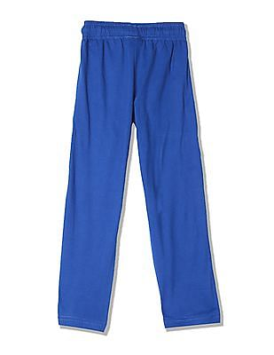 Day 2 Day Boys Elasticized Waist Solid Track Pants