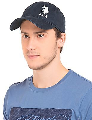 U.S. Polo Assn. Embroidered Logo Panelled Cap