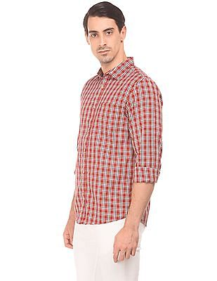 Ruggers Herringbone Weave Check Shirt