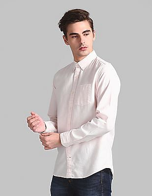 GAP Lived-In Stretch Oxford Shirt
