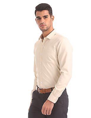 Excalibur Semi-Spread Collar Solid Shirt