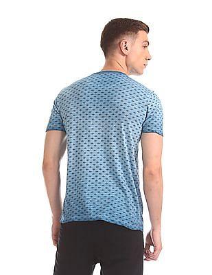 Cherokee Short Sleeve Printed T-Shirt