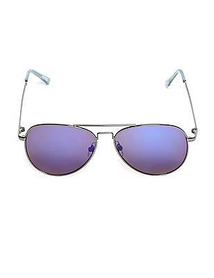 Aeropostale Metallic Frame Tinted Sunglasses