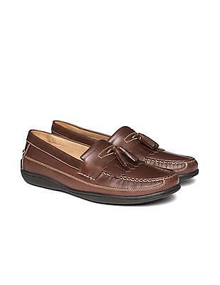 Johnston & Murphy Kiltie Fringe Leather Loafers