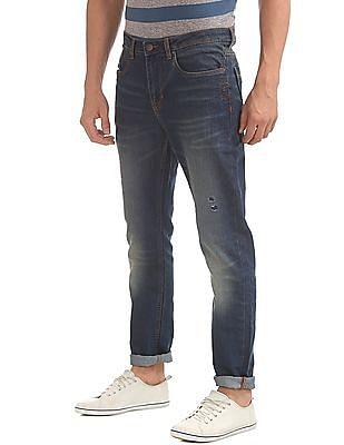 Cherokee Stone Wash Slim Fit Jeans