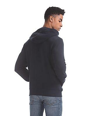 U.S. Polo Assn. Blue Hooded Cotton Sweatshirt