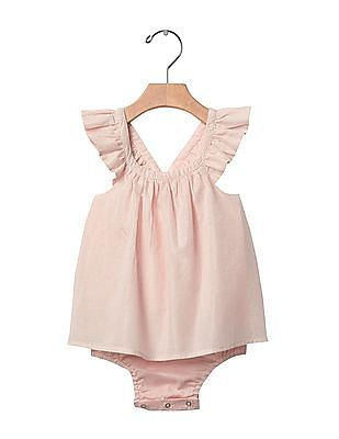 GAP Baby Pink Shimmer Flutter Body Double