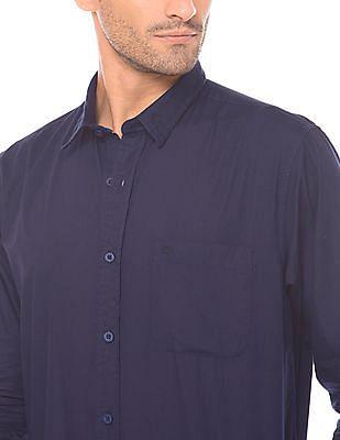Izod Slim Fit Cotton Shirt