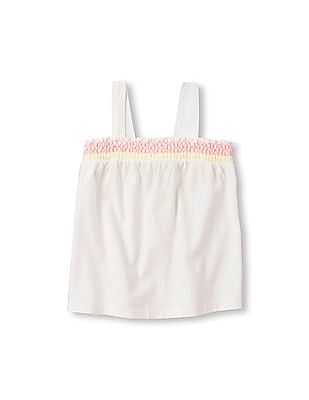 The Children's Place Toddler Girl Sleeveless Smocked Tank Top