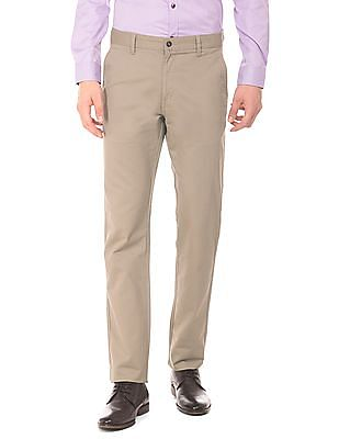 Ruggers Slim Fit Twill Trousers