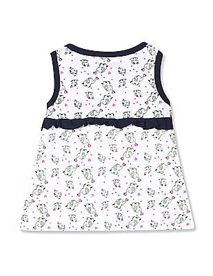 Day 2 Day Assorted Girls Ruffled A-Line Dress