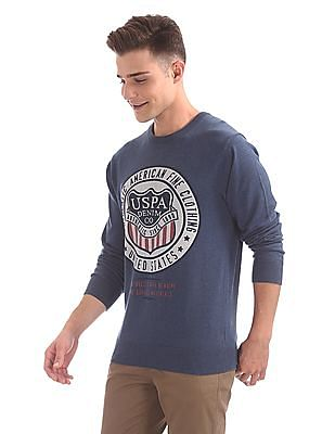 U.S. Polo Assn. Denim Co. Printed Crew Neck Sweater