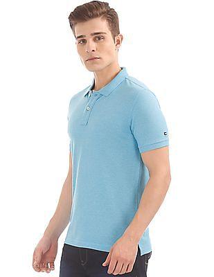 Arrow Sports Heathered Regular Fit Polo Shirt