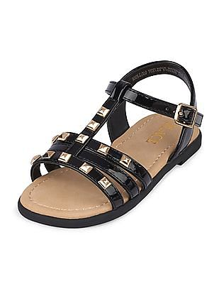 The Children's Place Toddler Girl Studded Zahara Sandal