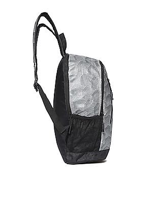 Flying Machine Printed Polyester Backpack