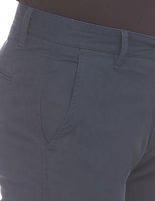 Izod Slim Fit Textured Trousers