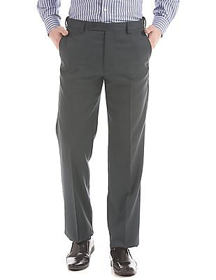 Arrow Mid Rise Regular Fit Trousers